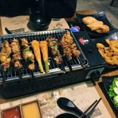 2 người ăn suất 3 người 😂 cả lẩu và nướng của Tiênn Phạm Thuỷ tại UNI BBQ - Đội Cấn - 2370352
