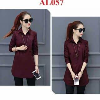 áo dơ mi nữ from dài túi chéo size M L của siuchen1 tại Shop online, Huyện Lục Yên, Yên Bái - 3642618