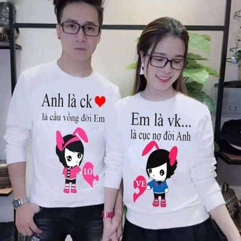 Áo đôi tình yêu♡♡ - 4880286 hoangtubangau - Ship cod toàn quốc - Hà