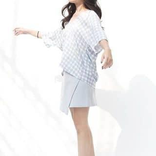 Áo Libé Oversized Checked Shirt - Blue của banhngott tại 26 Lý Tự Trọng, Quận 1, Hồ Chí Minh - 2904534