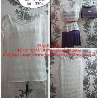 Áo lưới trắng cực xinh, giá đang sale #40k  của shopdautaydn tại Đà Nẵng - 1924776