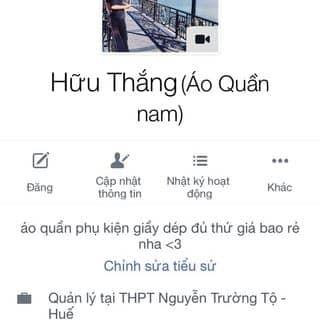 Áo quần của thangvip575 tại Thừa Thiên Huế - 785964