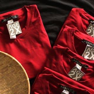 Áo thun trơn đỏ đô #age2x của xikechoi tại 112/47 Bùi Quang Là, phường 12, Quận Gò Vấp, Hồ Chí Minh - 2956639