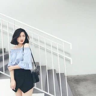 Áo trễ vai baby blue của thecloudynight tại Hà Tĩnh - 3397683