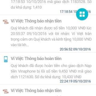 App ví việt của trunghb9a tại Shop online, Huyện Nghi Xuân, Hà Tĩnh - 1294719