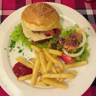 Bacon cheese burger 🍔 của trantran1992 tại 22H Minh Khai, Quận Hồng Bàng, Hải Phòng - 207830