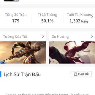 Bán acc lol :)) của quynhon5432 tại Shop online, Quận Kinh Dương, Hải Phòng - 3767149
