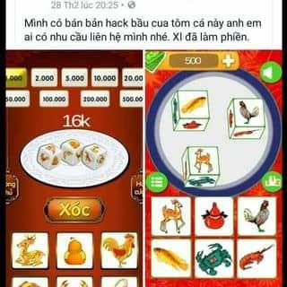 Bán bản hack bầu cua tôm cá của wintran tại Hà Tĩnh - 2927388