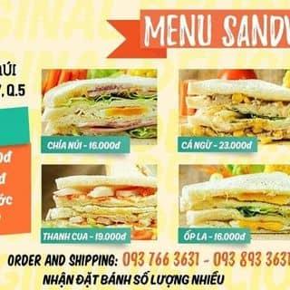 Bán bánh mì Sandwich Q5 TPHCM của swchianui tại 106B Ngô Quyền, Phường 7, Quận 5, Hồ Chí Minh - 2020744