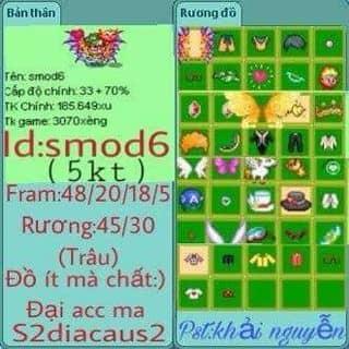 Bán game avatar của tothang7 tại 131 Trần Phú, Minh An, Thành Phố Hội An, Quảng Nam - 1785679