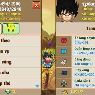 Bán nik ngoc rong 5tr sm co dt của nguyensinhhuan tại Hà Giang - 3193173