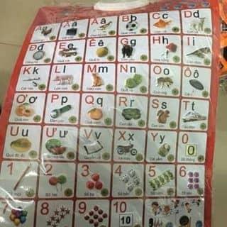 Bảng chữ cái tiếng việt có giọng nói của quynhdiemquynh1 tại Lâm Đồng - 2401351
