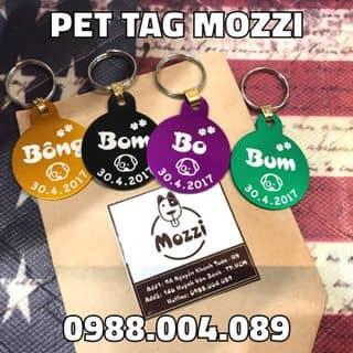 Bảng Tên Thú Cưng Mozzi của pettag tại 146 Huỳnh Văn Bánh, phường 12, Quận Phú Nhuận, Hồ Chí Minh - 3848760