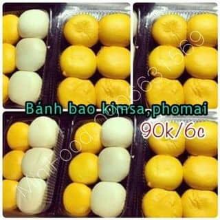 Bánh bao kim sa - kim sa phô mai (4 cái 60k - 6 cái 90k) của miupham9499 tại Hồ Chí Minh - 937135
