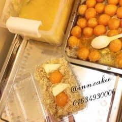 🔴 Bông Lan Trứng Muối  🔺Size Tròn:  - Bánh bltm sz 16 ( 5 trứng 6 phomai ) 160k  - Bánh bltm sz 20 ( 6 trứng 8 phomai ) 200k  🔺Size Hình Chữ Nhật:  - Bánh bltm hcn nhỏ 60k ( 2 trứng 2 phomai )  - Bánh bltm hcn to 120k ( 4 trứng 4 phomai )  📲Hotline: 01634930006 imess/zalo/viber  ❌Insta: inn.cakee ; FB: Bích Ngọc ( Bông Lan Trứng Muối )