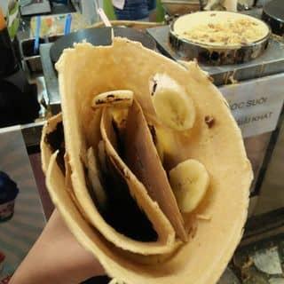 Bánh crepe chuối  của nganmonhon tại Công viên Thỏ Trắng, Quận 10, Hồ Chí Minh - 2933711
