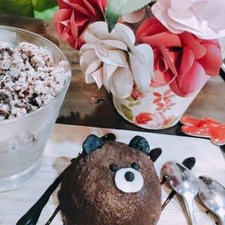 Bánh gấu + kem xông khói tồ tồ của t.nhatnhii tại 1 Hùng Vương, Phú Nhuận, Thành Phố Huế, Thừa Thiên Huế - 1342871