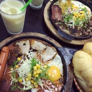 Bánh mì chảo trứng+pate+thịt của linhlinh267 tại Ngọc Hân Công Chúa, Thành Phố Bắc Ninh, Bắc Ninh - 488568