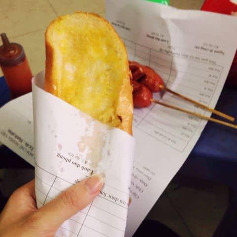 Các hình ảnh được chụp tại Bánh mì bơ thịt Hương Huyền - Đặng Tiến Đông