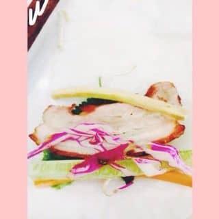 Bánh tráng cuốn thịt heo❤️ của thanhhangvuong tại 19 Phạm hồng Thái, Quang Trung, Thành Phố Hải Dương, Hải Dương - 1043990