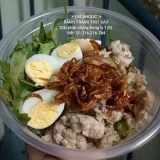 Bánh tráng thịt xào 20k/phần (đựng trong ly 1 lít) của lamkhietblue tại Hồ Chí Minh - 2678372