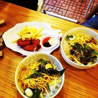 Bánh tráng trộn+khoai và xúc xích của tonnungocnga tại 3 Hà Huy Tập, Thành Phố Huế, Thừa Thiên Huế - 986149