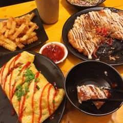 Sự kiện chuyển địa điểm đến 91 Thuỵ Khuê được miễn phí Bánh xèo Nhật hải sản kimchi 65K và kem tráng miệng! Vừa rẻ vừa ngon nhaaa :) Lưu ý: phải đăng kí KM trên Facebook của quán nha