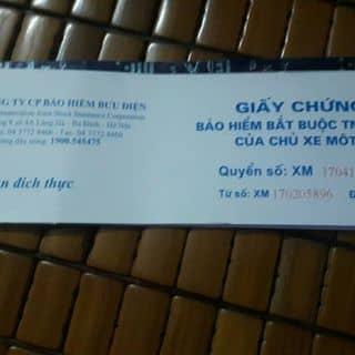 Bảo hiểm xe máy  của khoanhkhacbinhyen tại Tràng An, Trường Yên, Huyện Hoa Lư, Ninh Bình - 3433038