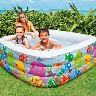 bể bơi  gia đình intex  kt : 1.59 x 1.59 m lẻ : 500 k -0868.970.566 của linhha115 tại Thái Nguyên - 3023073