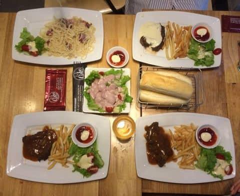 Beefsteak, cừu, sườn, spaghetti tại Cube Beefsteak & Drinks - Bò ...