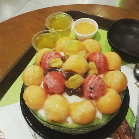 Các hình ảnh được chụp tại IZZIBING Snow Dessert Coffee - Bingsu