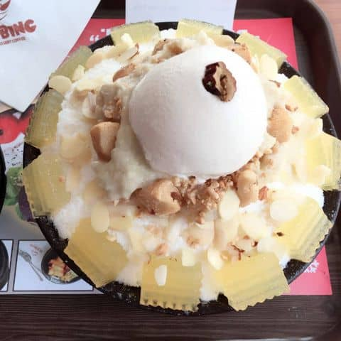 Bingsu sầu riêng - 2620811 dada1 - IZZIBING Snow Dessert Coffee - Bingsu - 49 Phổ Quang, Quận Tân Bình, Hồ Chí Minh