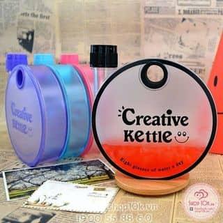 BÌNH NƯỚC NHỰA TRÒN CREATIVE KETTLE của shop10k.vn tại Hồ Chí Minh - 2950650