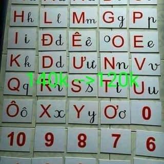 Bộ 40 thẻ chữ cái và số của tantan59 tại Bắc Ninh - 2423837