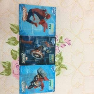 Bộ ba thẻ siêu anh hùng 3D của ledung342 tại Hòa Bình - 2445881