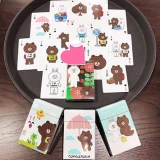 Bộ bài gấu Lines của anhng9783 tại TOÀN QUỐC, Quận 1, Hồ Chí Minh - 2929674