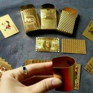 Bộ bài mạ vàng  Không thấm nước. Đánh mãn năm  Giá : 120k của thaoblue9999 tại Kiên Giang - 2478749