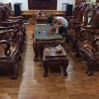 Bộ bàn ghế cẩm lai 100% k lai tạp của luongch tại Bình Phước - 2486115