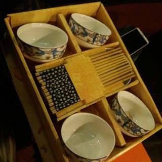 Bộ chén đũa sứ sành điệu của hahaha52002 tại Hồ Chí Minh - 2701580