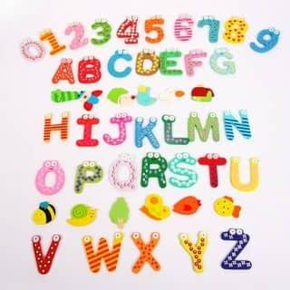 Bộ chữ, số và hình nam châm cho bé vui học của dautayanp tại Hồ Chí Minh - 2077046