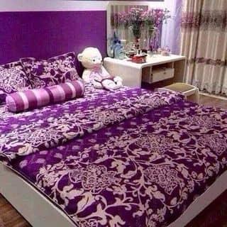 Bộ drap hoa tím của tuyet81092 tại Bình Thuận - 1045121