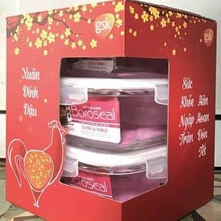Bộ hộp Lock&Lock vuông 3 món của tangok171 tại Hồ Chí Minh - 2439563