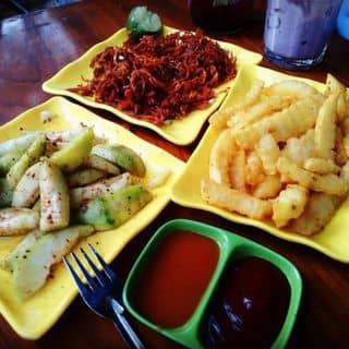 Bò khô+xoài dầm+khoai lắc 😌 của buianhngoc2000 tại Số 29 đường Bình Thuận, Thị Xã Tuyên Quang, Tuyên Quang - 758659
