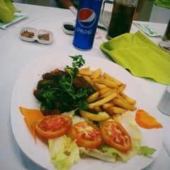 Thịt bò mềm,ko dai. Khoai tây giòn,thơm. Nói chung đồ ăn ở đây ngon lắm 😍😘😂 #pepsilakhi