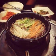 Lần đầu thử ăn món Bulgogi này ở Việt Nam, ngon, ngọt và đậm đà phết. hehe
