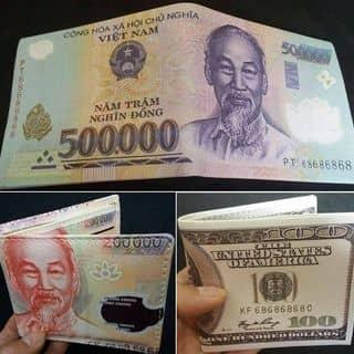 💵💶💷Bóp da hình tiền đang hót nhất hiện nay... Da sịn.. Mẫu như thật .. Giá lại cực sốc : 80.000₫ của xitrumsus tại 69, 30 Tháng 4, Thành Phố Mỹ Tho, Tiền Giang - 1194041