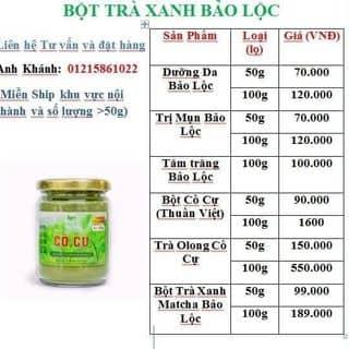 Bột trà xanh Bảo Lộc của vominhkhanhdt tại Hồ Chí Minh - 1932610