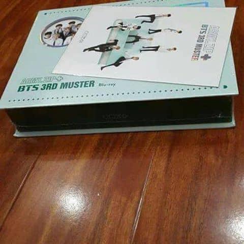 Bts 3rd Muster Blu Ray
