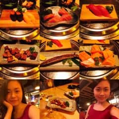 Buffet nhật của Lam Nguyễn tại Isushi - Buffet Nhật Bản - Nguyễn Chí Thanh - 1200907