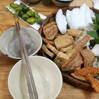 Bún đậu mắm tôm đầy đủ - suất 2 người của tuongvy6699 tại 102/1B Cống Quỳnh, Phạm Ngũ Lão, Quận 1, Hồ Chí Minh - 1276808